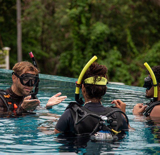 PADI Scuba Diver at Ban's Diving Koh Tao