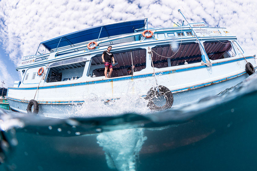 Dive boats of Ban's Diving Koh Tao