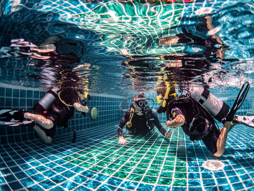 PADI Bubble Makers Ban's Diving Koh Tao