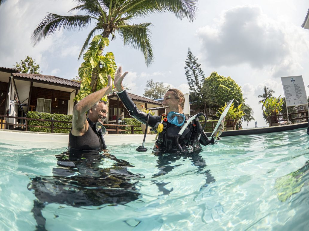 PADI Instructor Training Koh Tao